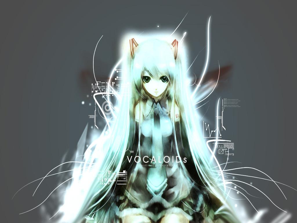 Miku Hatsune Vocaloid 바탕화면