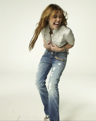 Miley at Glamour magazine