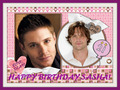 My spn birthday card from msanders2008