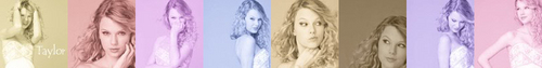 My taylor banner