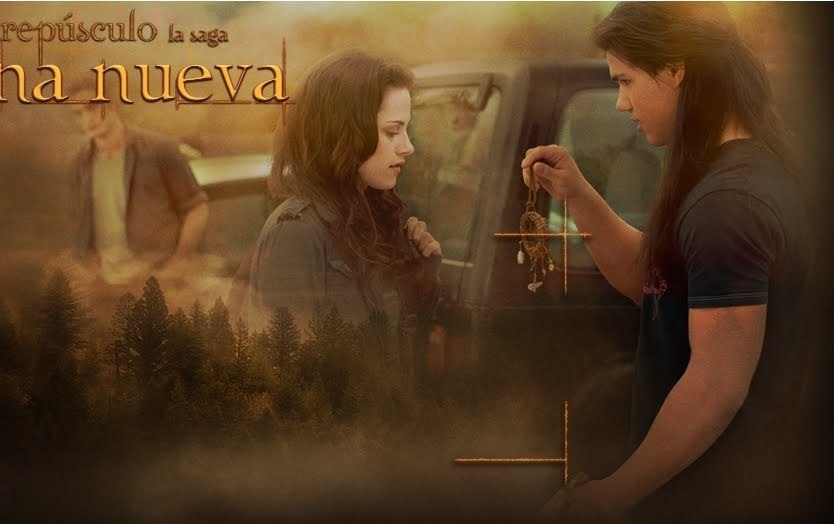 New New Moon Still (Jacob gives Bella the dream catcher)