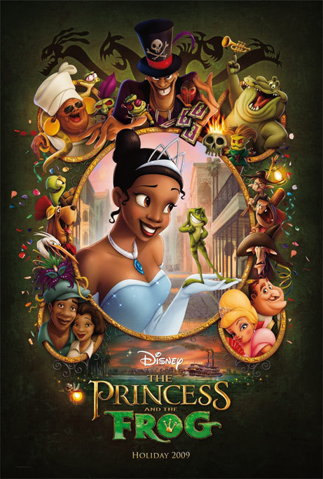 the princess and the frog poster. New Poster