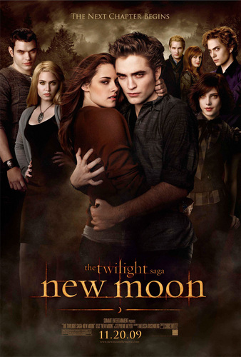 Official New Moon poster. <3