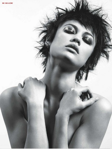 Olga Kurylenko achtergrond possibly with skin and a portrait called Olga Kurylenko | Cedric busje, van Mol Photoshoot