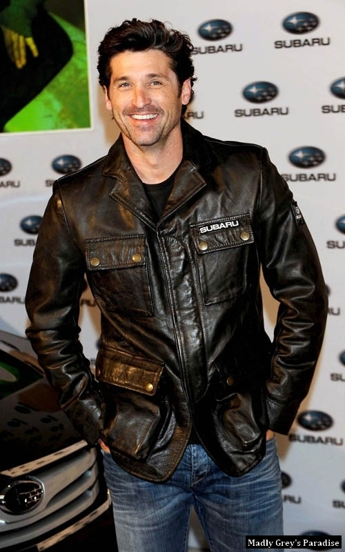Patrick Dempsey at Madrid- Subaru Outback - patrick-dempsey photo