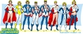 Power Girl costumes - dc-comics fan art