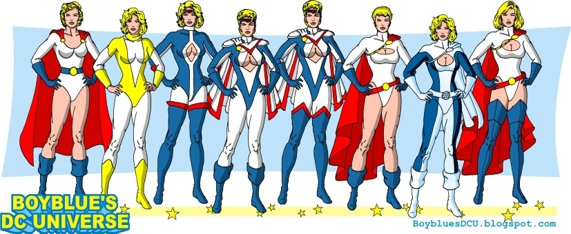 Dc power girl new 52