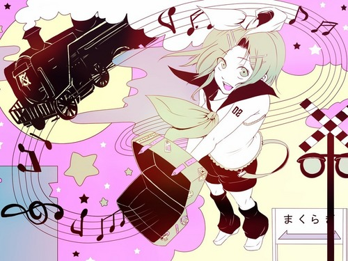 Rin Kagamine Vocaloid 바탕화면