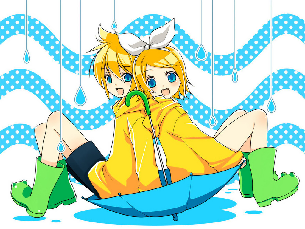 rin y len kagamine wallpapers