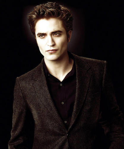 Rob as Edward in New Moon official foto