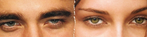 Robsten Eyes (the two রঙ are just...waw!!)