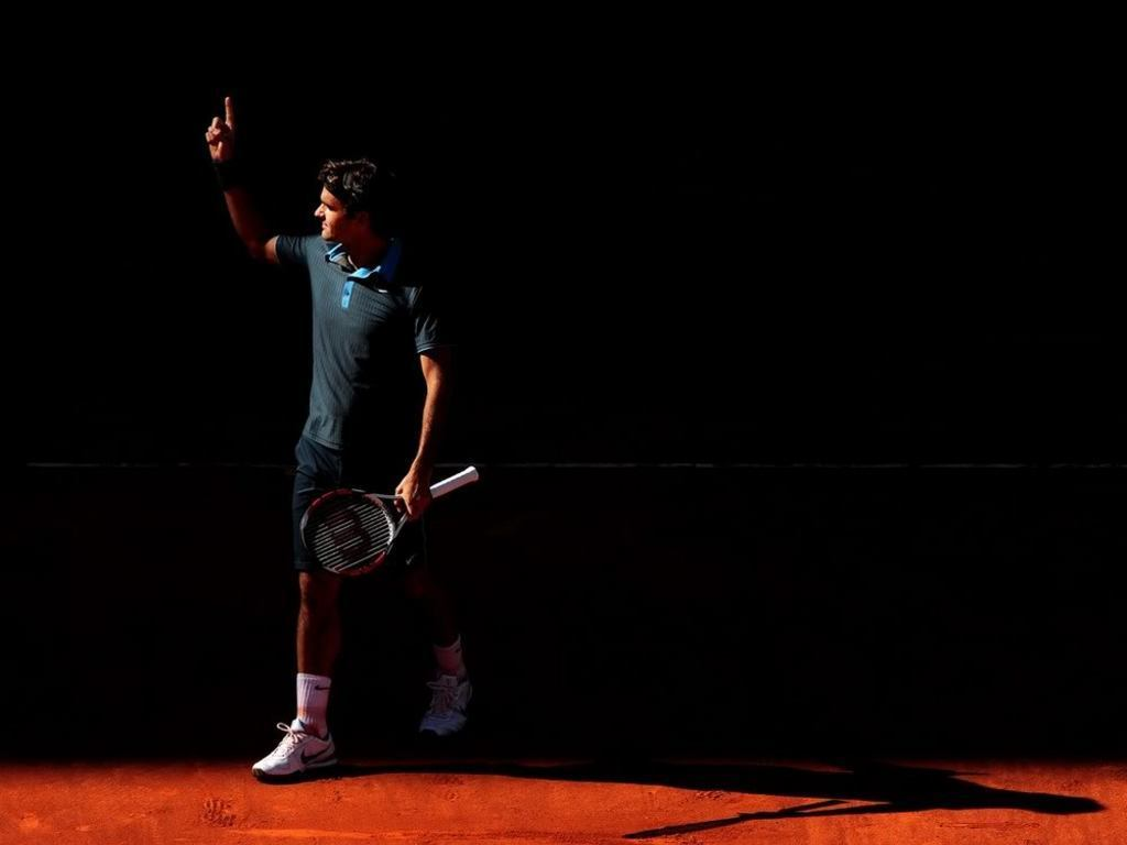 Sports Black Wallpaper Hd: Federer Wallpaper Hd 2012