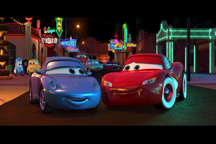 pixar cars wallpaper. Sally - Disney Pixar Cars
