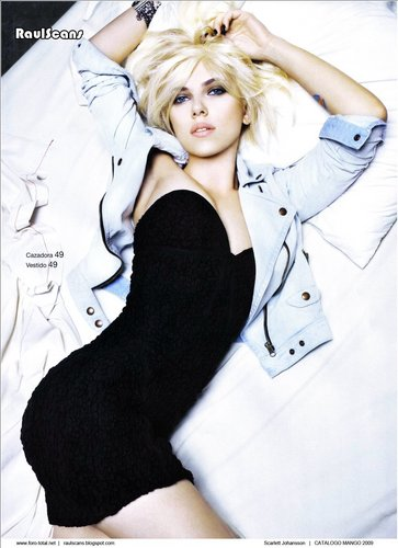 Scarlett Johansson - আম Photoshoot Scans