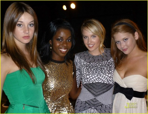 Secret Life Girls at Teen Vogue Party