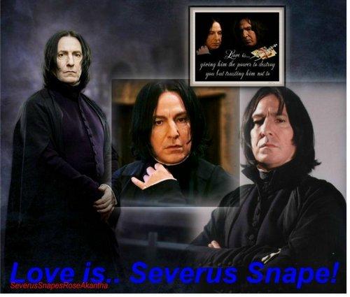 Severus- Is Love