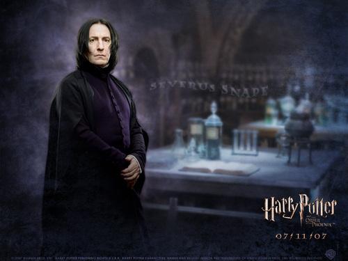 Severus Snape/Alan Rickman