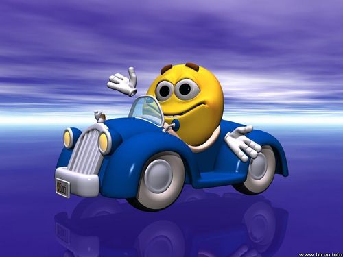 KEEP SMILING wallpaper possibly containing anime entitled Smiley Hug Out for a Drive