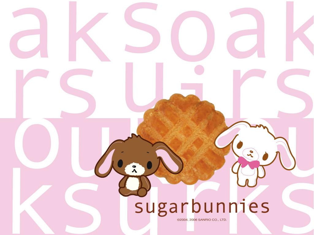 Sugarbunnies Wallpaper