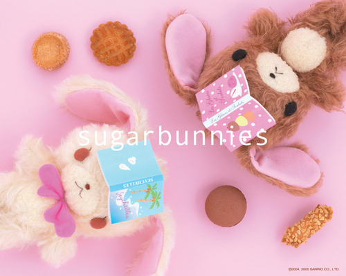 Sugarbunnies wallpaper called Sugarbunnies wallpaper