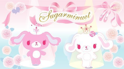 Sugarbunnies wallpaper entitled Sugarminuet Image