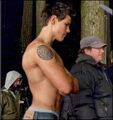 Taylor Lautner SHIRTLESS!!! - twilight-series photo