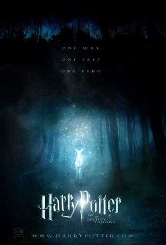 Severus Snape wallpaper probably containing a sign titled Teaser poster HP & the Deathly Hallows
