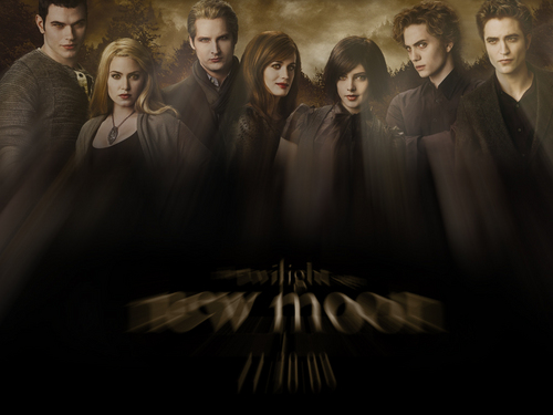 The Cullen Family in New Moon!