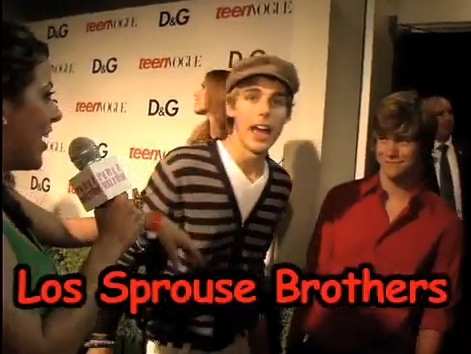 The Sprouse Brothers Grew Up