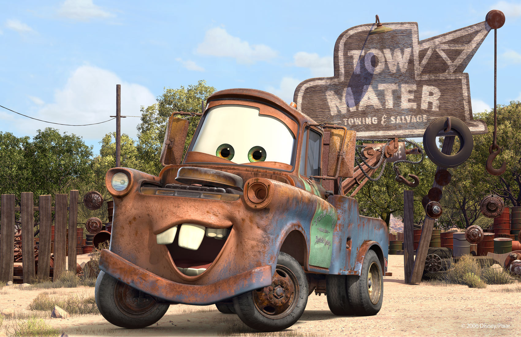 Tow Mater Disney Pixar Cars Photo 8365921 Fanpop