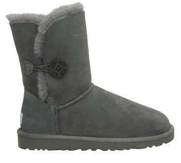 UGG Bailey Button Grey Boots free shipping