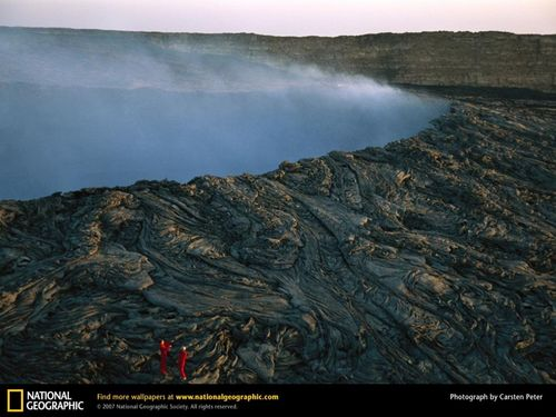Volcano/Hot Lava