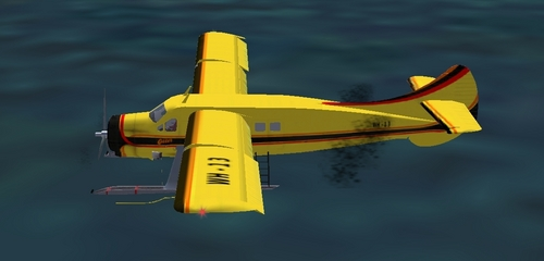 Warehouse's Private Plane