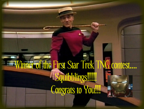 Winner of the First звезда Trek TNG contest!!!