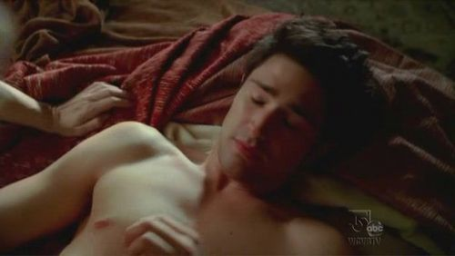 Matt Dallas wallpaper containing skin, a neonate, and a milk entitled Witches of Eastwick (pilot)
