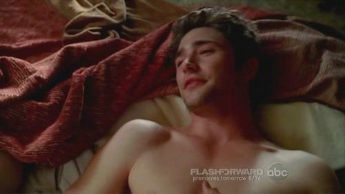 Matt Dallas wallpaper with skin and a portrait titled Witches of Eastwick (pilot)