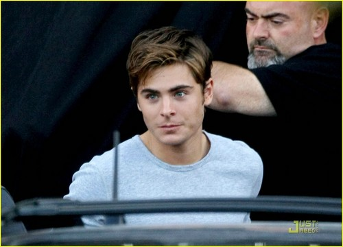 Zac Efron leaves The Death & Life of Charlie St. wingu set in Vancouver (September 25th)