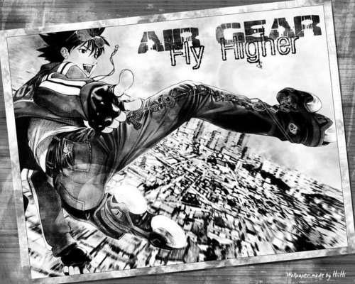 air gear postcard