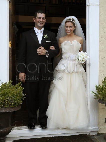 Alyssa Milano Wedding