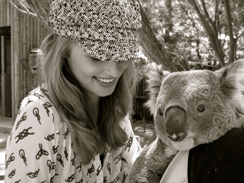 dianna in the zoo