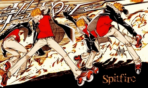 Air Gear Hintergrund containing Anime entitled genesis (spitfire)