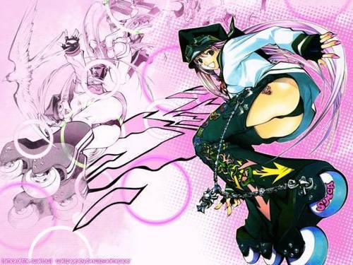 Air Gear wallpaper with anime titled genesis (simca)