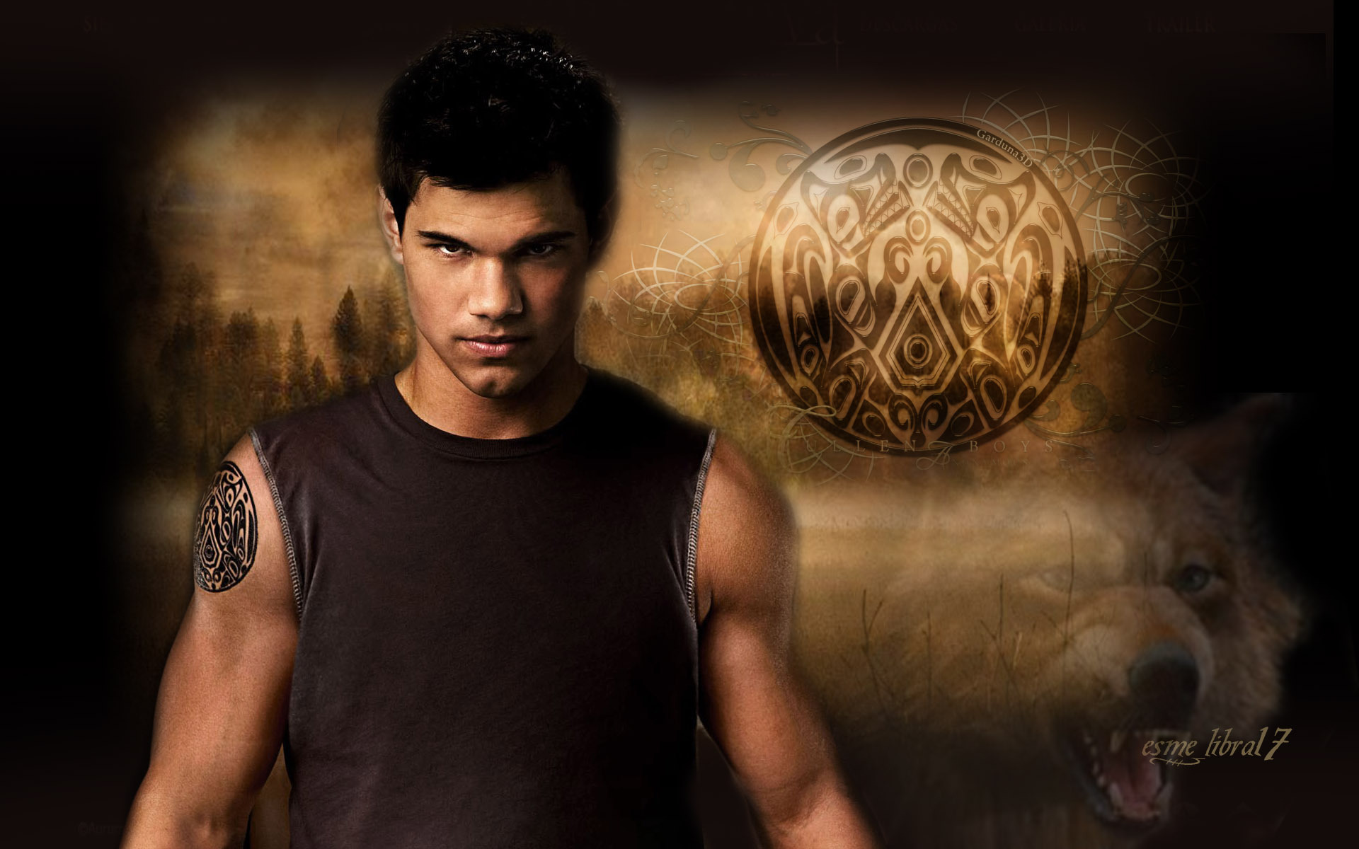 jacob black - twilight Crepúsculo Wallpaper (8395141) - Fanpop
