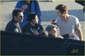 on set of eclipse - twilight-series photo