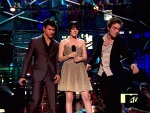 twilight cast at VMA 2009
