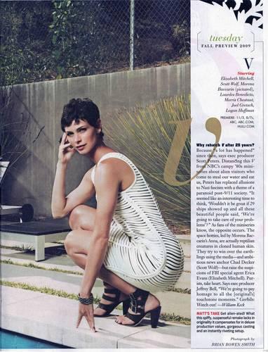 v Morena Baccarin-TV Guide Photoshoot