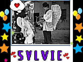 *Angel Charlie To Sylvie* Vicky