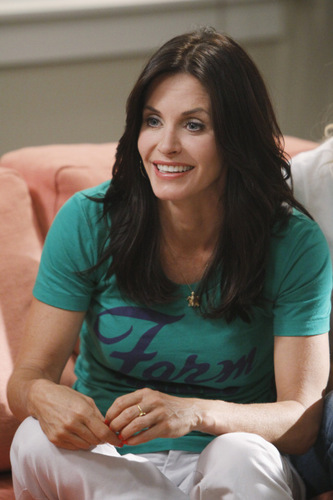 Cougar Town wallpaper probably containing a portrait called  I Won't Back Down Promotional Photo