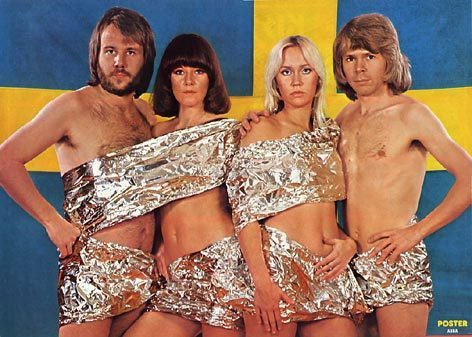ABBA wallpaper containing a bikini entitled ABBA