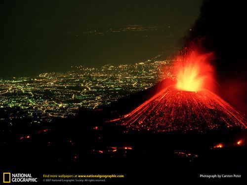 Active volkano